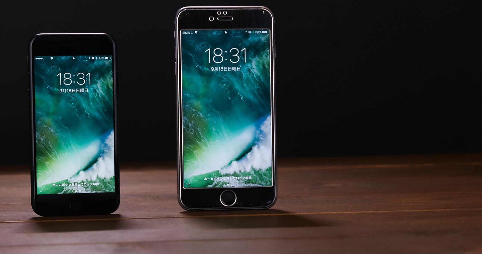 iPhone6s勢ぞろい