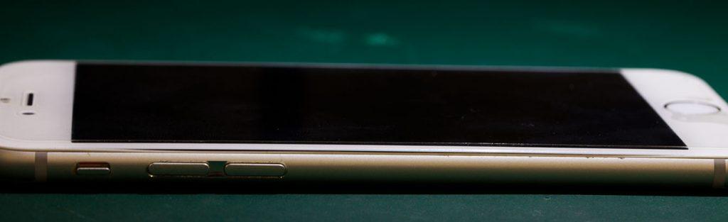 SMILESでバッテリー交換修理後のiPhone