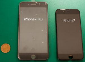 iphone7と7plusの比較